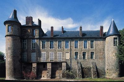 Nangis Castle--Giclee Print