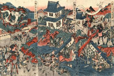 Nanko Akasaka Rojo No Zu-Kubo Shunman-Giclee Print