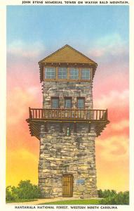 Nantahala Tower, Western North Carolina