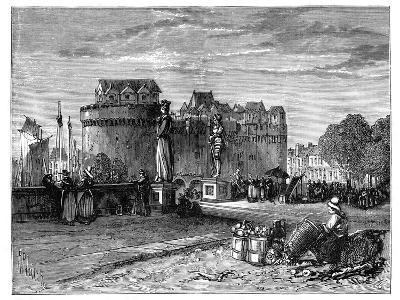Nantes, on the Loire, France, C1890--Giclee Print