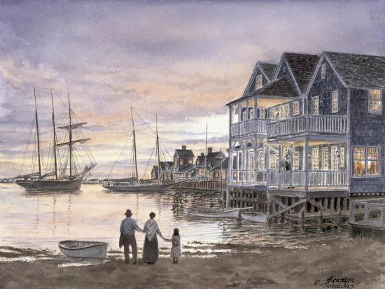 Nantucket Sunset-Stanton Manolakas-Giclee Print