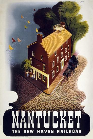 Nantucket--Giclee Print
