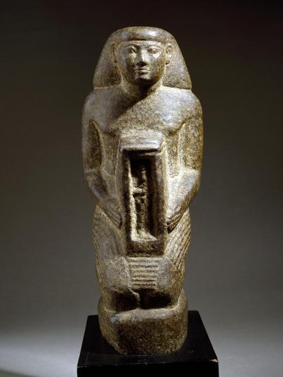 Naoforo with the God Osiris--Giclee Print