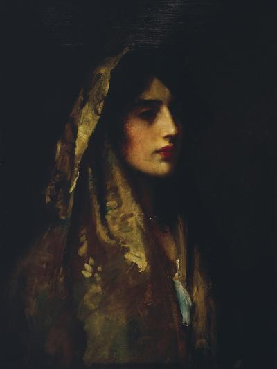 Naomi, 1914-Luke Fildes-Giclee Print