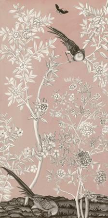Blush Chinoiserie II by Naomi McCavitt