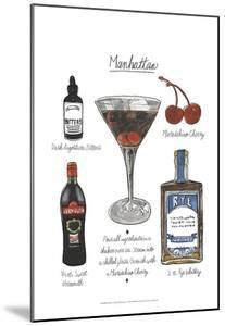 Classic Cocktail - Manhattan by Naomi McCavitt