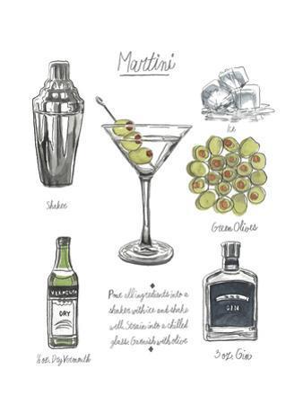 Classic Cocktail - Martini by Naomi McCavitt