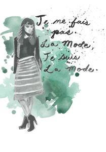 Fashion Quotes I by Naomi McCavitt