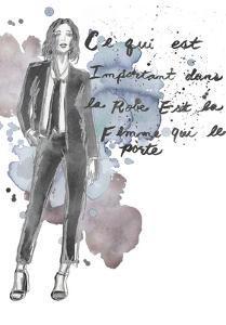 Fashion Quotes III by Naomi McCavitt