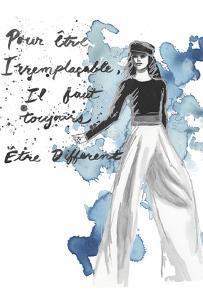 Fashion Quotes IV by Naomi McCavitt
