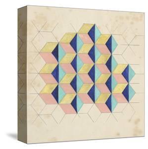 Geometric Pattern Play I by Naomi McCavitt