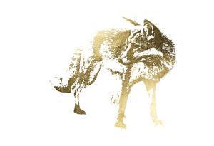 Gold Foil Fox by Naomi McCavitt