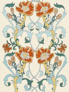 Nouveau Floral Pattern I by Naomi McCavitt