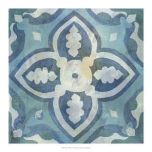 Patinaed Tile IV by Naomi McCavitt