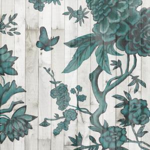 Terra Verde Chinoiserie I by Naomi McCavitt