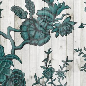 Terra Verde Chinoiserie IV by Naomi McCavitt
