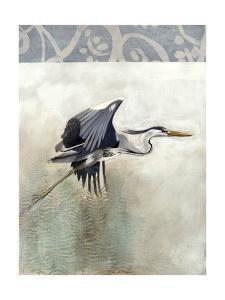 Waterbirds in Mist III by Naomi McCavitt