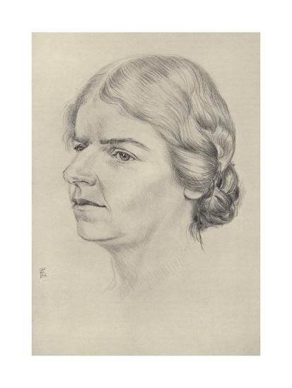 Naomi Mitchison, Scottish Novelist and Poet--Giclee Print