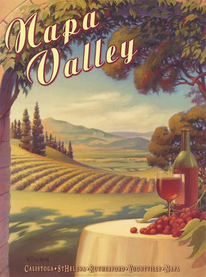 Napa Valley-Kerne Erickson-Art Print