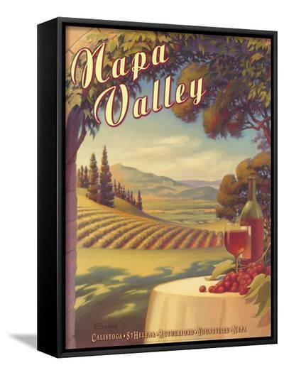 Napa Valley-Kerne Erickson-Framed Canvas Print