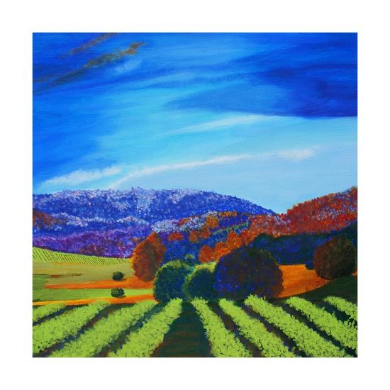 Napa Valley-Herb Dickinson-Art Print
