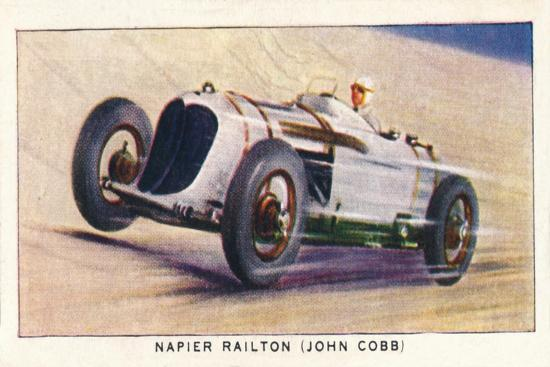 'Napier Railton (John Cobb)', 1938-Unknown-Giclee Print