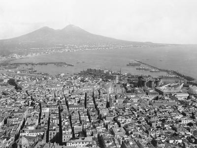 Naples and Mount Vesuvius-Edizioni Bregi-Photographic Print