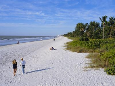 Naples Beach, Naples, Florida, USA-Fraser Hall-Photographic Print