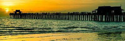 Naples Florida Pier at Sunset-Philippe Hugonnard-Photographic Print