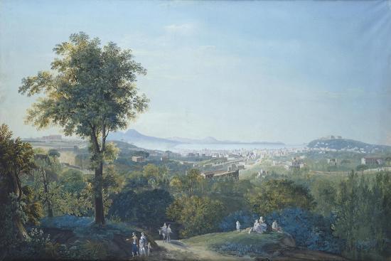 Naples from Capodimonte Scudillo-Salvatore Li Greci-Giclee Print