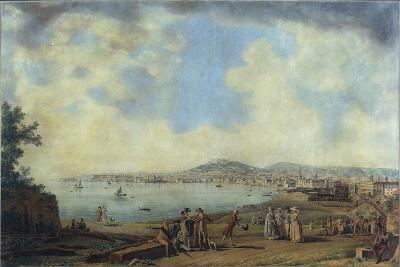 Naples from Magdalene Bridge, 1791-Giovanni Battista Pittoni the Younger-Giclee Print