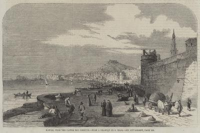 Naples, from the Castel Del Carmine-Samuel Read-Giclee Print