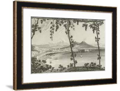 Naples, from the West--Framed Giclee Print