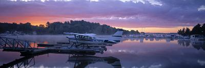 Naples Marina, Sebago Lake, Maine, USA-Walter Bibikow-Photographic Print