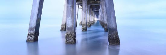 Naples Pier Morning-Moises Levy-Photographic Print