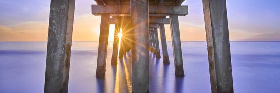 Naples Pier Panoramic II-Moises Levy-Photographic Print