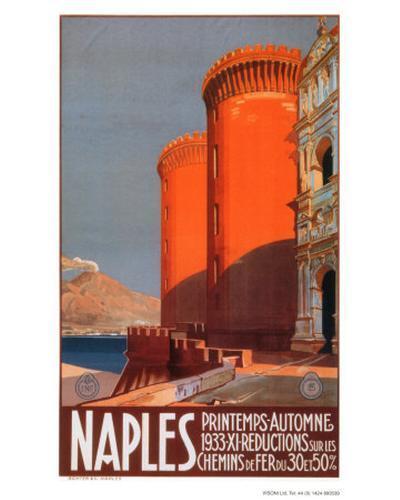 Naples--Art Print