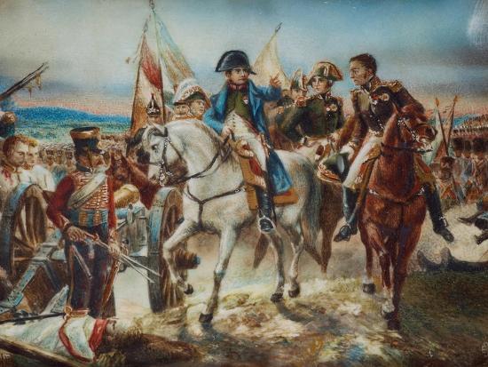 Napoleon at the Battle of Friedland-Claude Joseph Vernet-Giclee Print