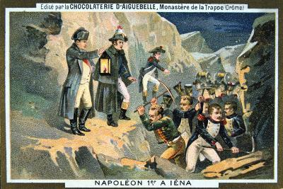 Napoleon at the Battle of Jena, 14 October 1806--Giclee Print