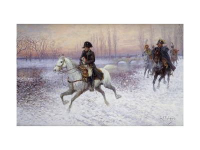 Napoleon at the Head of a Troop of Cavalry-Jan		 Chelminski-Giclee Print
