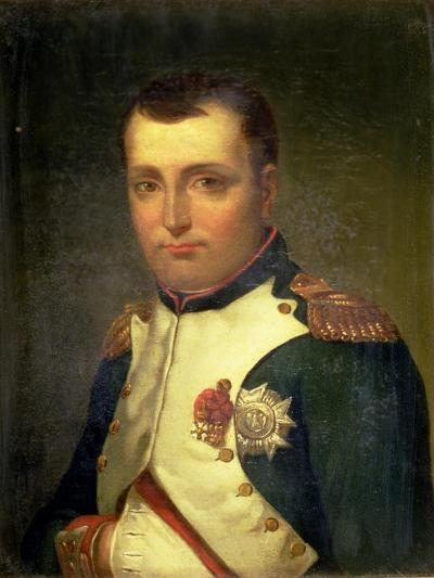 Napoleon Bonaparte (1769-1821)-Jacques-Louis David-Giclee Print