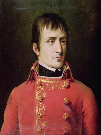 Napoleon Bonaparte 1796-Robert Lefevre-Giclee Print