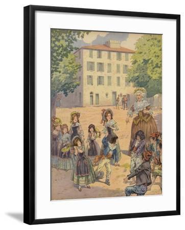 Napoleon Bonaparte as a Child--Framed Giclee Print