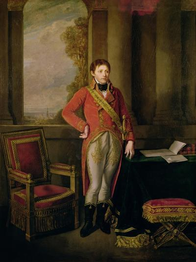 Napoleon Bonaparte as First Consul, 1799-1805-Jean-Baptiste Greuze-Giclee Print