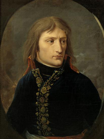 Napoleon Bonaparte as General, c.1796-Baron Louis Albert Bacler D'albe-Giclee Print