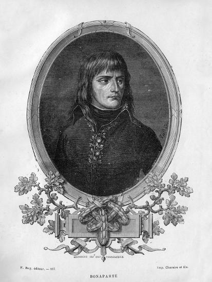 Napoleon Bonaparte, French General and Emperor, 1862 (1882-188)-Charaire et fils-Giclee Print