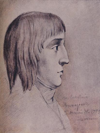 'Napoleon Bonaparte in 1785, Aged Sixteen', (1896)-Unknown-Giclee Print