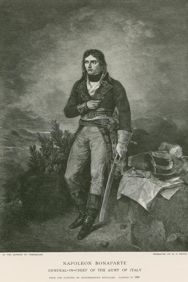 Napoleon Bonaparte-Jean Sebastien Rouillard-Giclee Print