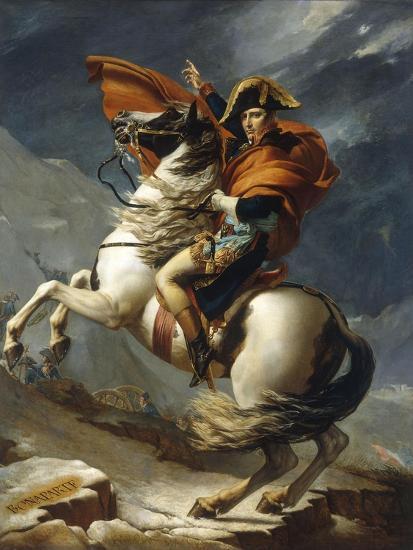 Napoleon Crossing the Alps-Jacqueline David-Giclee Print