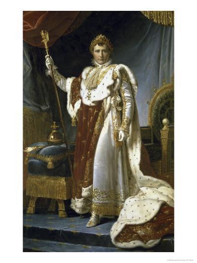 Napoleon En Costume de Sacre-Francois Gerard-Giclee Print